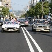 岡崎城下家康公夏祭り 岡崎市長Rocky3000GTクラシックカーパレード